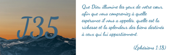 Jour 35 que dieu illumine nos coeurs for Dans nos coeurs 35